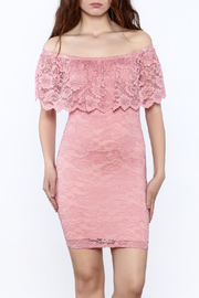 Imagenation Romantic Lace Dress - Product Mini Image