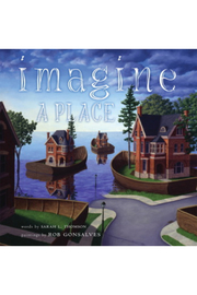 Simon and Schuster Imagine A Place - Front cropped