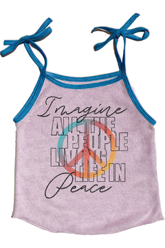 Shoptiques Product: Imagine Terrycloth Tank
