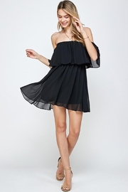 Imagine That Black Frills Dress - Product Mini Image