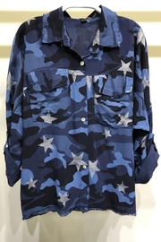 Imagine That Blue Camo Long Sleeve - Product Mini Image