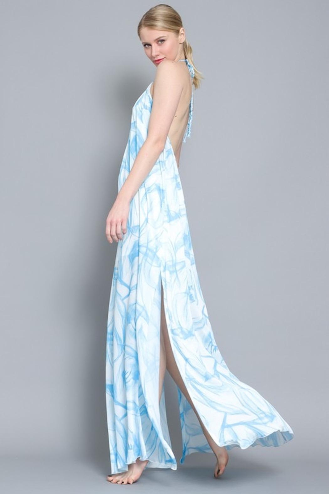 Imagine That Blue Lagoon Maxi - Side Cropped Image