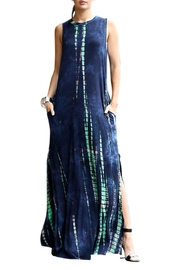 Imagine That Blue Lagoon Maxi Dress - Front cropped