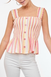Imagine That Candy Stripe Top - Product Mini Image