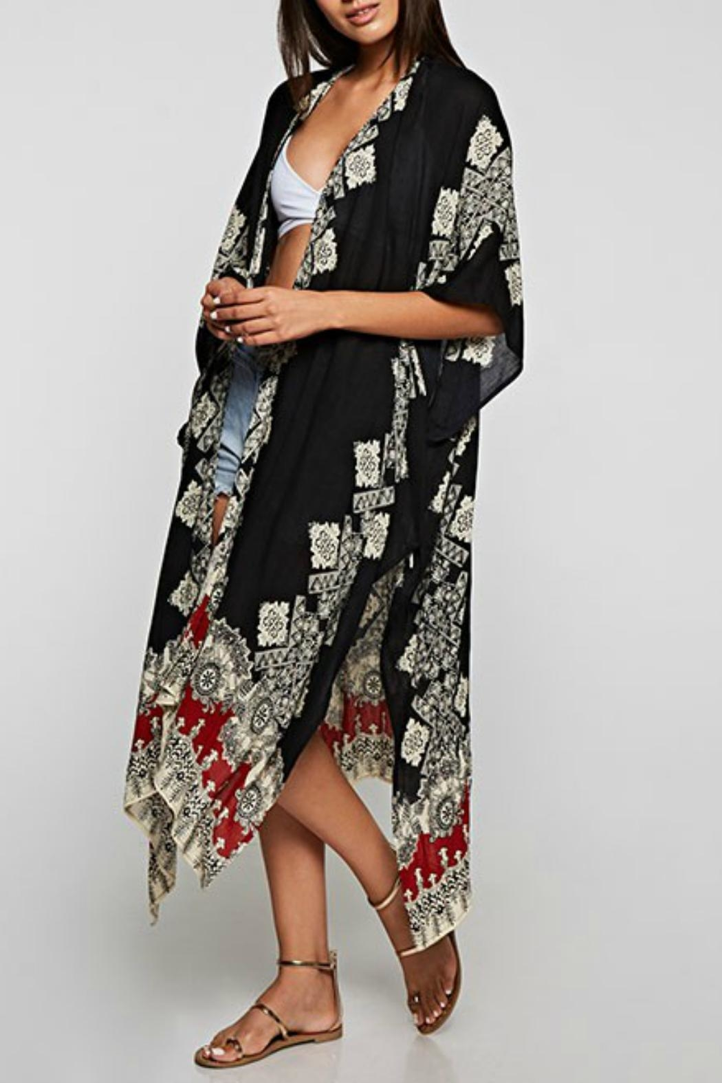 Imagine That Coachella Kimono - Side Cropped Image