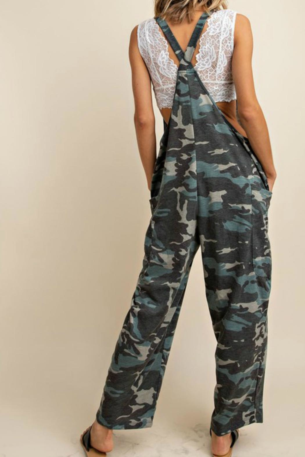 Imagine That Cool Camo Jumpsuit - Side Cropped Image