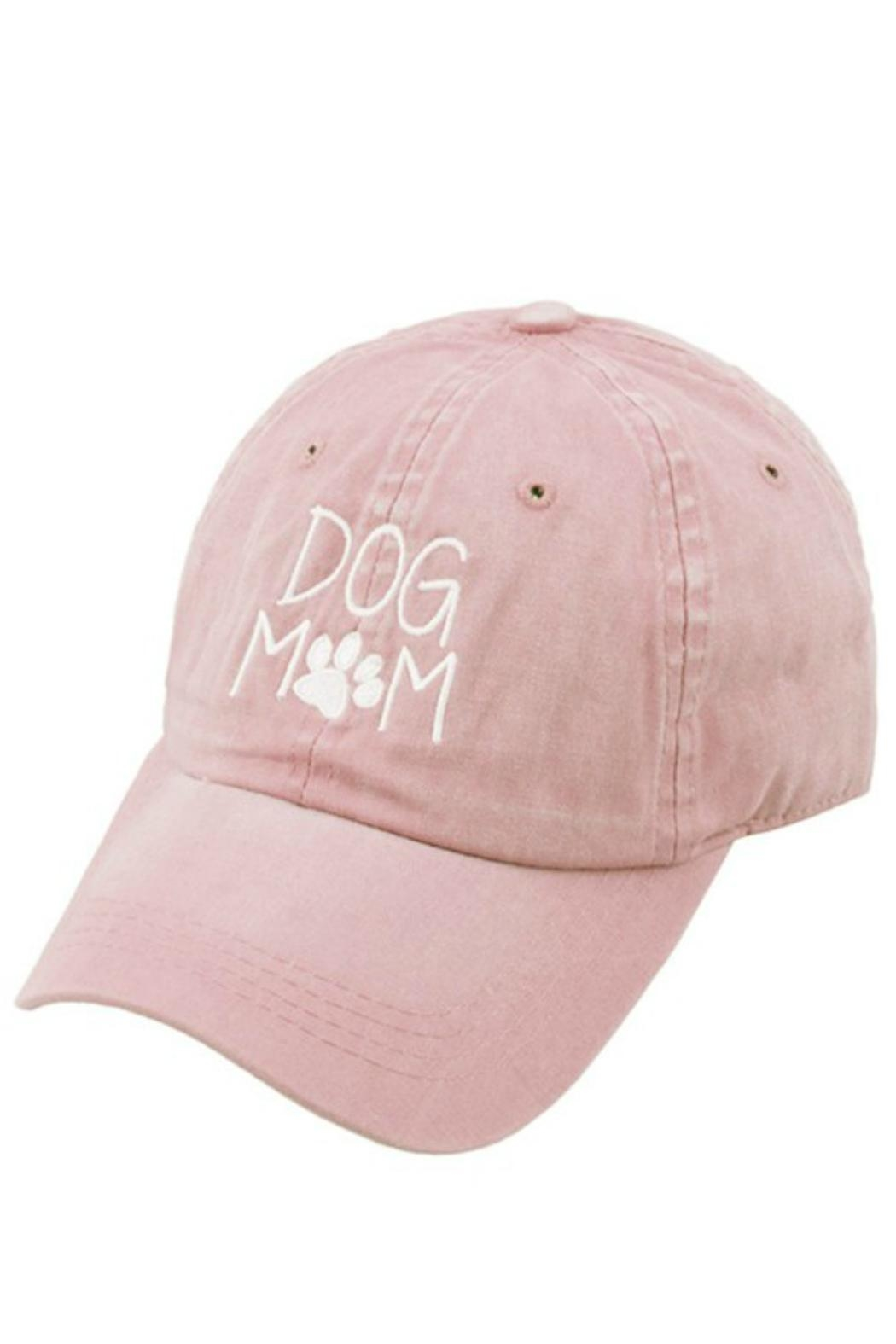 Imagine That Dog Mom Hat - Front Cropped Image