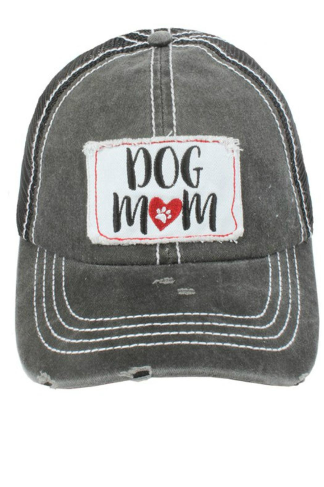 Imagine That Dog Mom Hat - Front Full Image