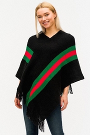 Imagine That Faux Designer Poncho - Front cropped
