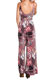 Imagine That Flirty Floral Jumpsuit - Side cropped