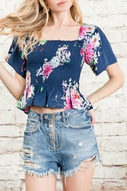 Imagine That Floral Print Top - Product Mini Image