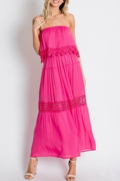 Imagine That Laced Maxi Dress - Product List Image