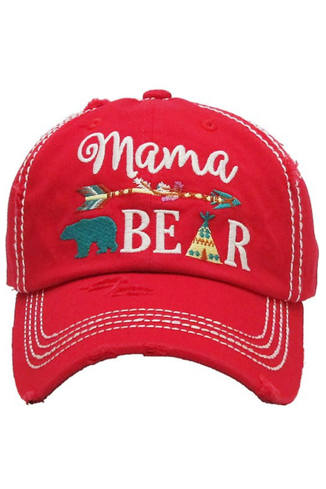 Imagine That Mama Bear Hat - Front Cropped Image