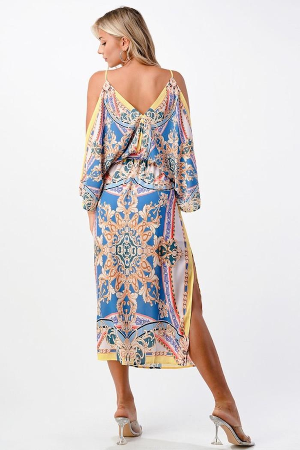Imagine That Palma Ceia Dress - Front Cropped Image