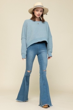 Shoptiques Product: Queen Bell Bottom Jeans