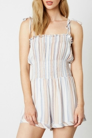 Imagine That Sandpearl Romper - Front cropped