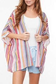 Imagine That Stripe Kimono - Product Mini Image