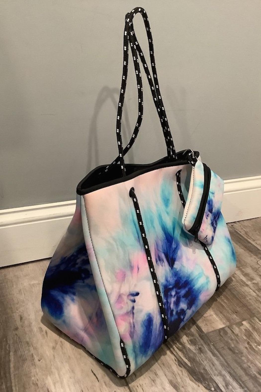 Imagine That Tie Dye Tote - Front Full Image
