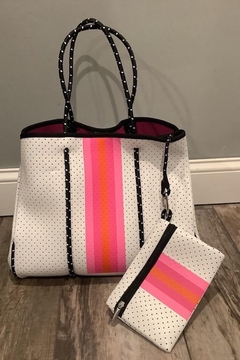 Imagine That White-Pink Tote - Product List Image