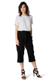 Yest  Imane Polka Dot Top - Product Mini Image