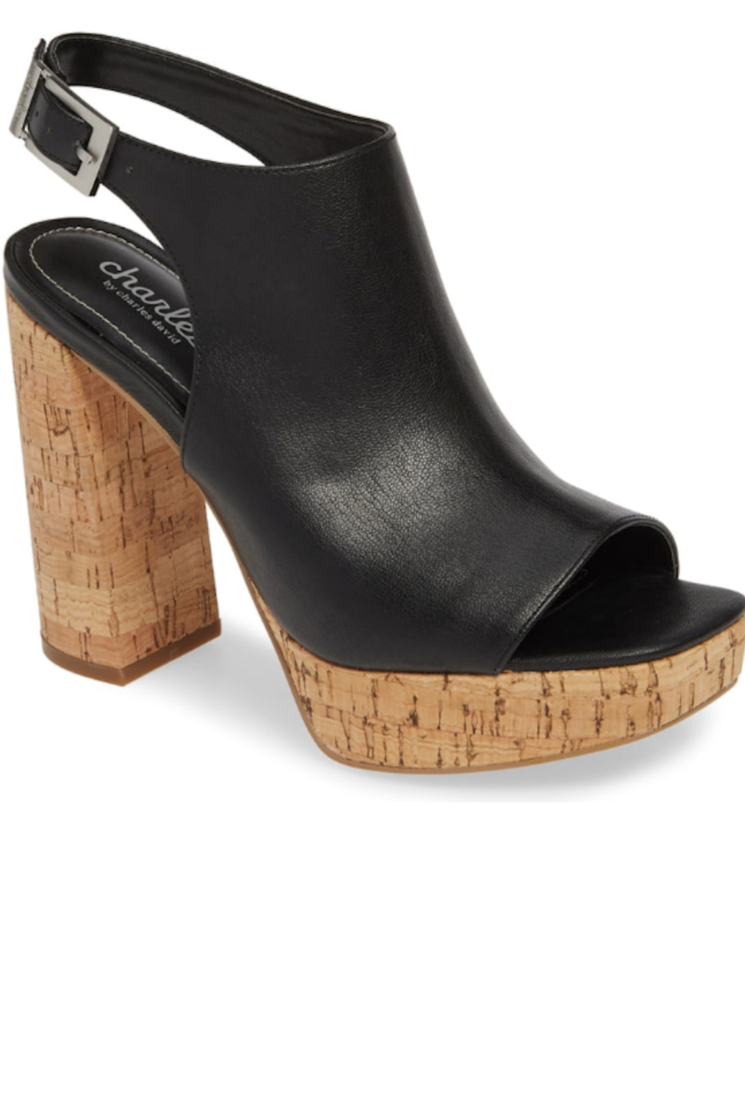 Charles David Imani Chunky Heel - Front Cropped Image