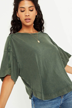 Project Social T Imany Boxy Tee - Product List Image