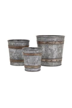 Shoptiques Product: Beck Galvanized Pots