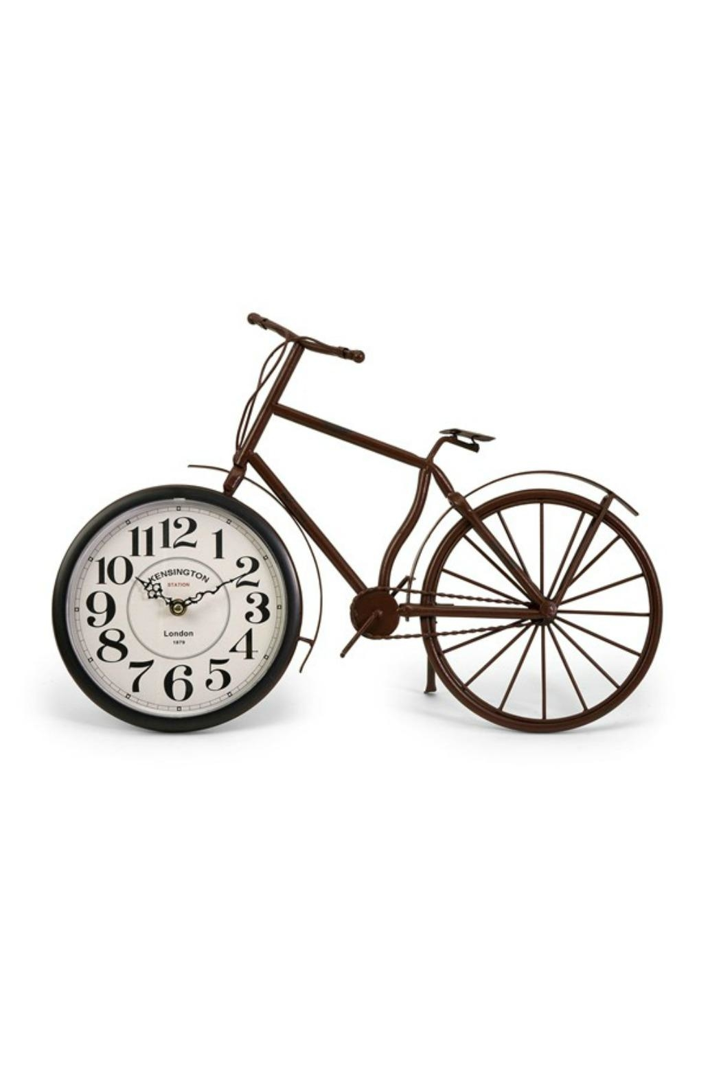 IMAX Worldwide Higdon Bicycle Clock - Front Cropped Image