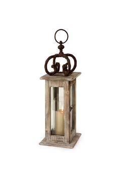 Shoptiques Product: Wood Lantern