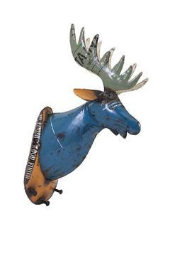 Shoptiques Product: Reclaimed Metal Deer