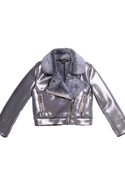 Imoga Faux Suede Jacket - Front cropped