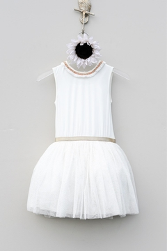 Shoptiques Product: Girls' Cream Dress
