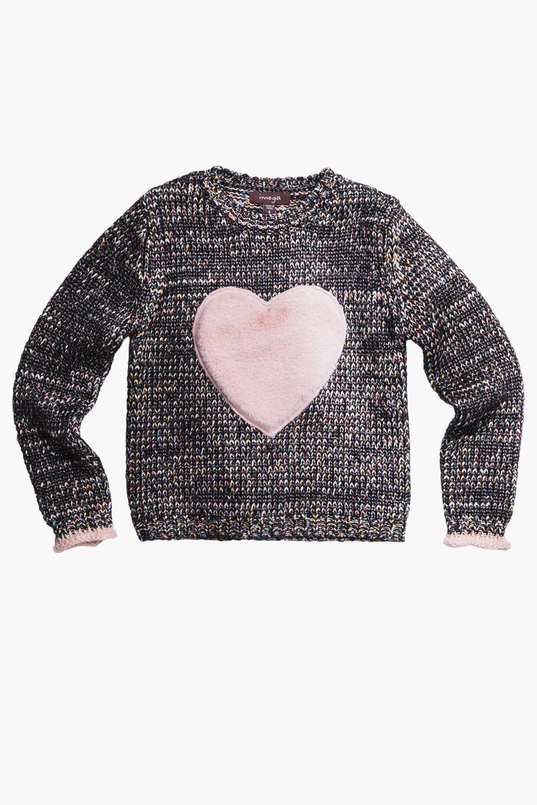 Imoga Graffiti Heart Sweater - Main Image