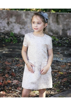 Imoga Rose Gold Dress - Product List Image