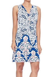 Aryeh Imperial Button Dress - Product Mini Image