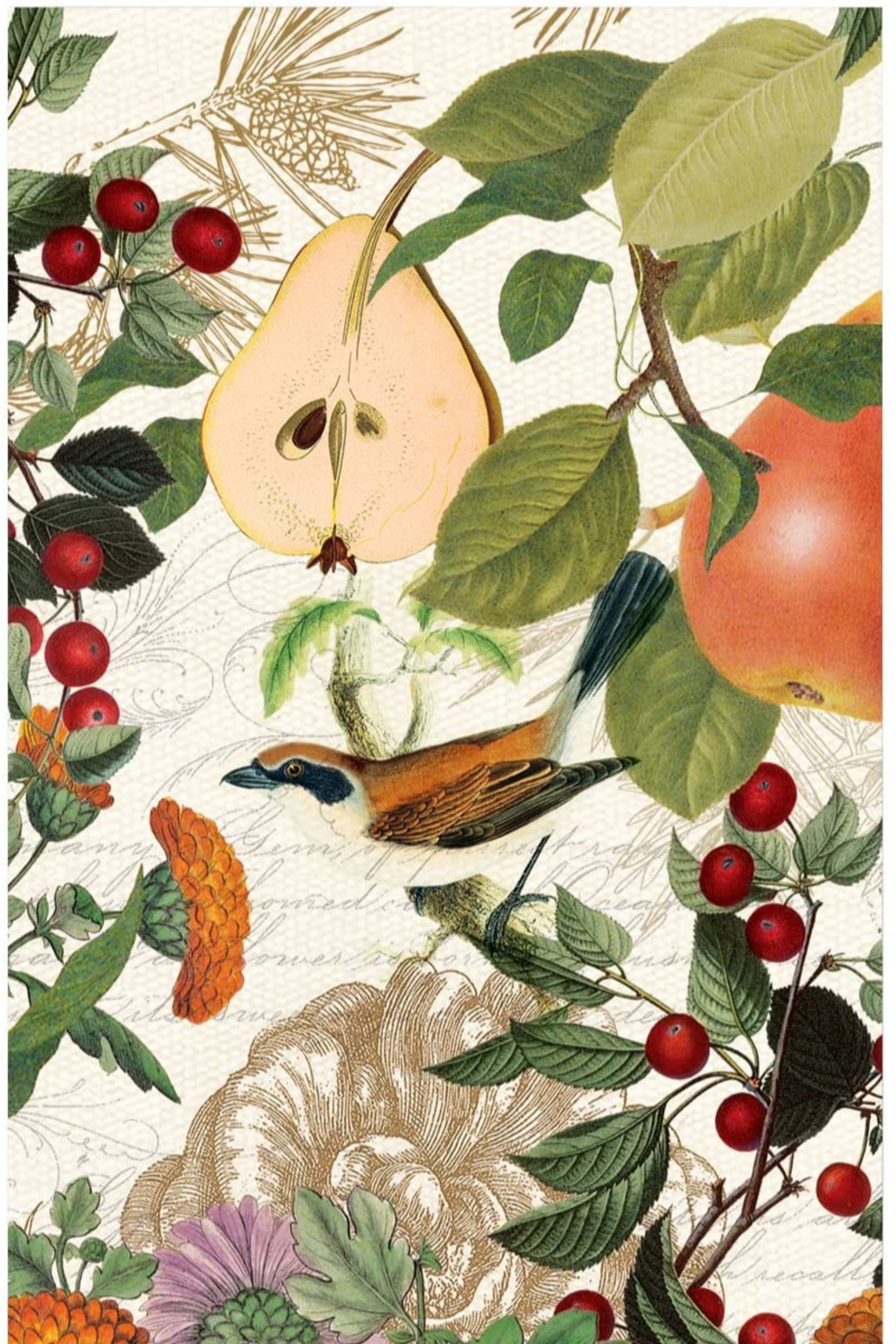 Michel Design Works In A Pear Tree Paper Napkins (15) - Main Image