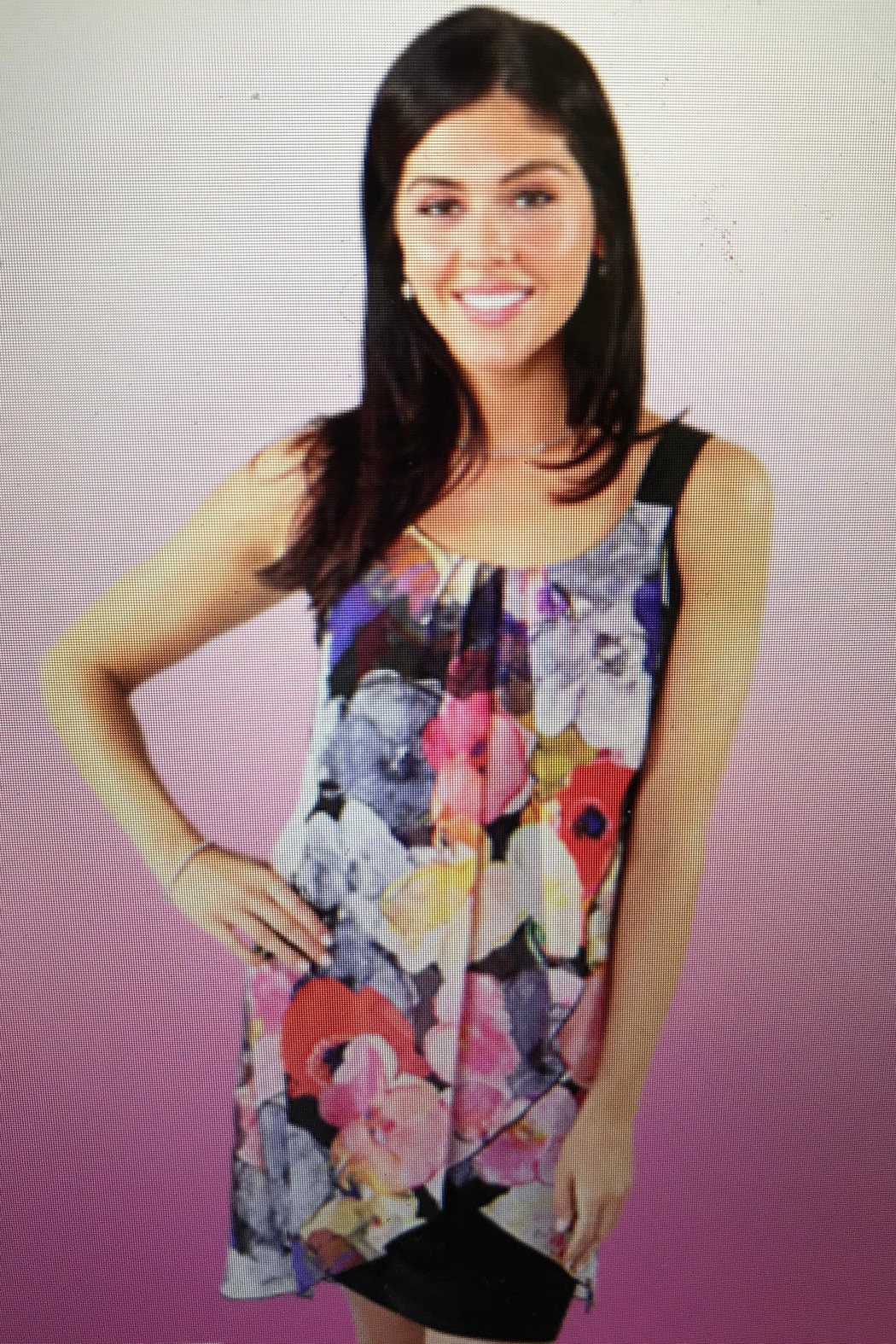 Michael Tyler Collections In Bloom Dress - Front Cropped Image