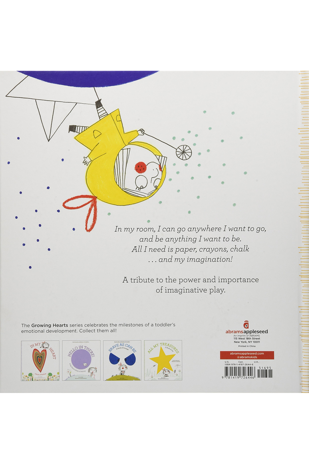 Hachette Book Group In My Room: A Book of Creativity and Imagination - Front Full Image