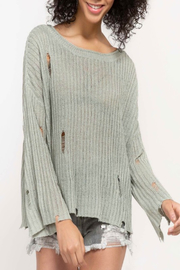 POL In Shreds Sweater - Product Mini Image