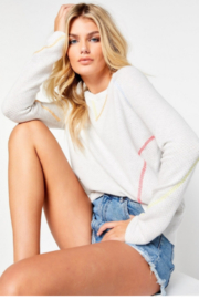 Lisa Todd In Stitches Sweater - Front cropped