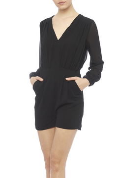 In Style Black Romper - Product List Image