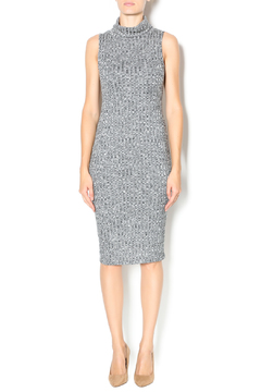 In Style Ribbed Turtleneck Dress - Product List Image