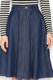 In Style Strong Denim Midi-Skirt - Other