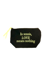 Dani Risi In Tennis LOVE means nothing Pouch - Front cropped