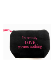 Dani Risi In Tennis LOVE means nothing Pouch - Product Mini Image