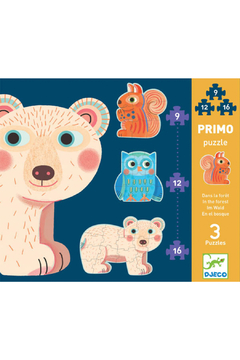 Djeco  In The Forest Progressive Puzzle - Product List Image