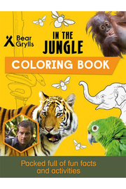 Bear Grylls : In The Jungle Coloring Book - Product Mini Image