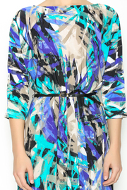 In The Loop Geometric Print Dress - Front full body