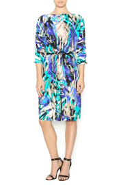 In The Loop Geometric Print Dress - Product Mini Image