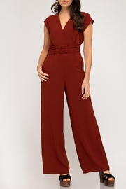 She + Sky In The Moment Jumpsuit - Front cropped
